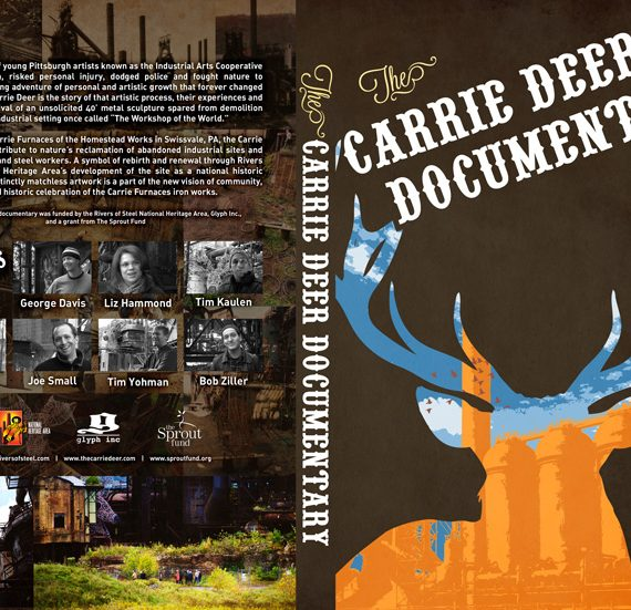 DVD cover for the Carrie Deer Documentary
