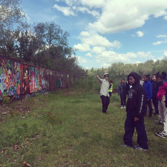 Leading an Urban Art Tour in 2016