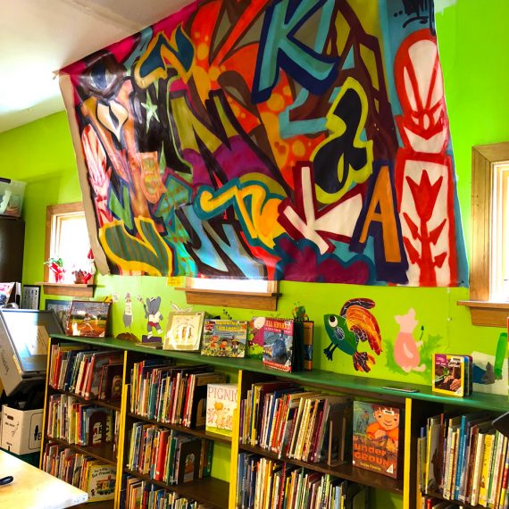 Partnership with Vanka Murals and Millvale Community Library